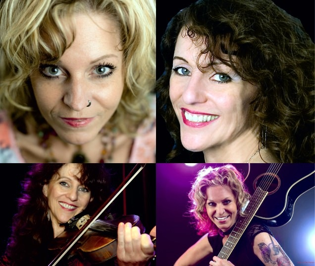 Wenn die Country-Ladies, Claudia Himmel und <b>Carola Adam</b>, die Bühne betreten, <b>...</b> - ClaudyBlueSky